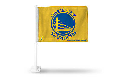Golden State Warriors Car Flag Nba Basketball New By Rico Industries A37