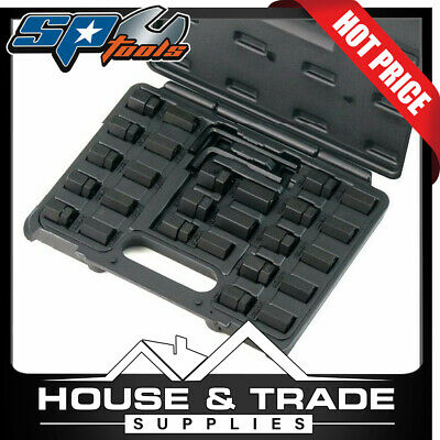 SP TOOLS 28 Piece Metric/SAE Stud Removal And Insert Set SP31255