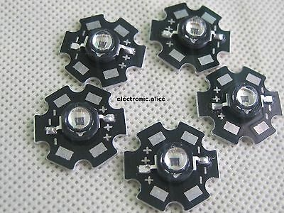 5pc 3535 high power 3W 940nm Infrared LED Light IR led chip with 20mm star pcb