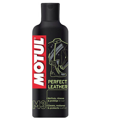 Motul M3 Perfect Leather Cleaner 250ml for Boots Gloves Leathers New