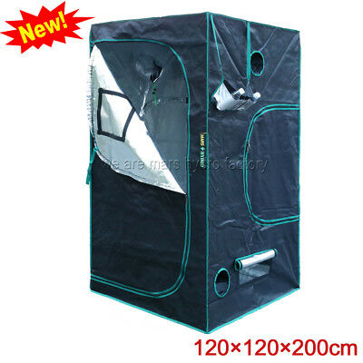 120x120x200cm Mars Hydro Indoor Grow Tent Box Reflective Mylar Hydroponics Room