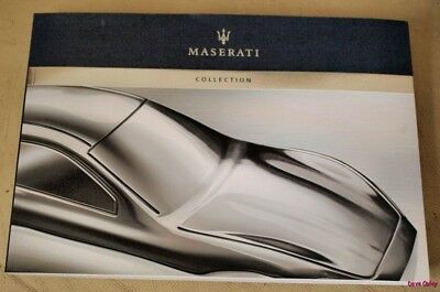 Rare Mint 2007 Maserati Collection Book / catalogue NEW