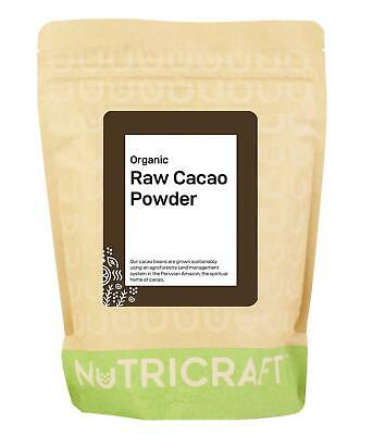 1kg organic CACAO / COCOA powder by NUKRAFT® - Raw - Peruvian Criollo