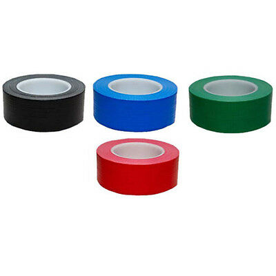 48Mm X 20M Duck Duct Gaffa Gaffer Waterproof Adhesive Repair Cloth Tape 4 Colour