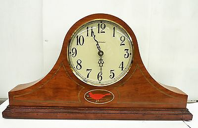 Stoneybrook -Handcrafted Solid Bubinga  Mantel Clock With Harmonic Chimes