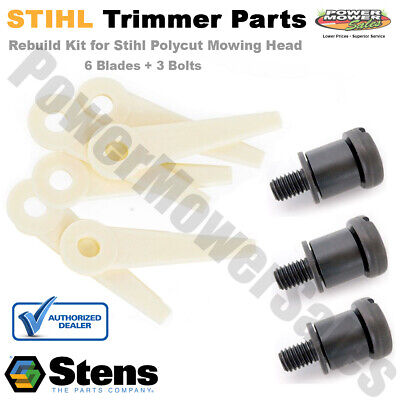 4111-710-8700 & 4111-007-1001 Blade and Bolt Aftermarket Kit for STIHL PolyCut