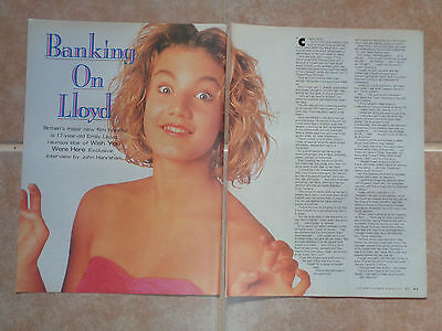 Emily Lloyd_Tampax foot fetish ad_MAGAZINE CLIPPINGS_ships from AUS!_13h
