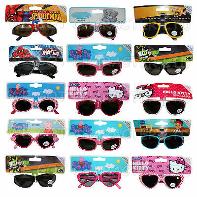 Childrens Sunglasses various Brands Hello Kitty Spiderman Peppa Pig Tatty Teddy