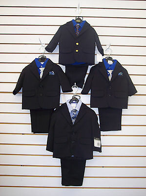 Infant Boys Assorted 4pc. Suits Size 12mo. & 24mo.