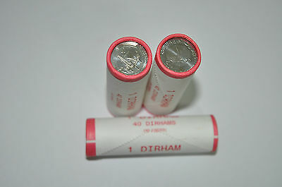 UAE One Dirham Roll in 40 Coins -The 50th Anniversary of ADMA Commemorative coin