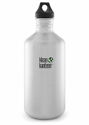 KLEAN KANTEEN CLASSIC 64oz 1900ml BPA FREE WATER BOTTLE -BRUSHED STAINLESS STEEL