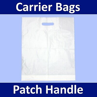 Carrier Bags ** Plastic Polythene Shopping Gift, Patch,Vest,Varigauge, All Types