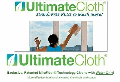 ULTIMATE CLOTH 2 PACK STREAK FREE ECO SAFE ALL SURFACE Electronics Mirrors Car