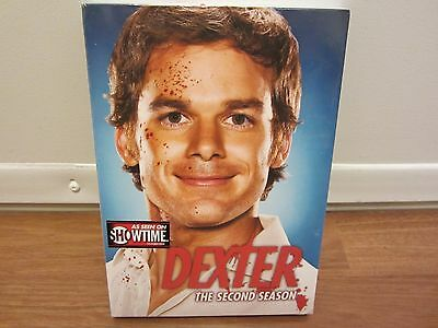 Dexter - The Complete Second Season (DVD, 2008, 4-Disc Set) Michael C. Hall  NEW