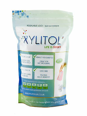 Xylitol Natural Sweetener Sugar Replacement 1kg