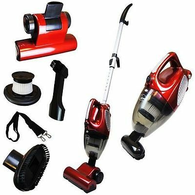 2 in 1 Upright & Hand Held Bagless Compact Lightweight Vacuum Cleaner Hoover