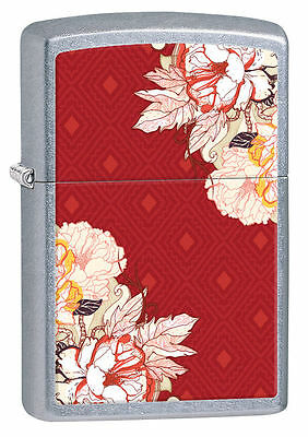 Zippo Windproof Lighter With Boho 1 (Bohemian) Design, # 28849, New In Box