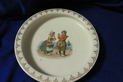 Vintage Holdfast Baby Plate McNicol