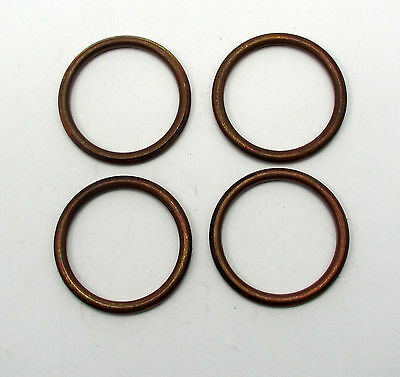 Four 50-000-04 Exhaust Gasket for Honda CB750 K / F/ CB900  & many other models