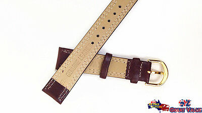 2 Sets 18mm Unisex Leather Watch Band Strap