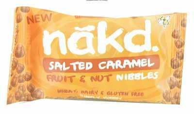 Nakd Salted Caramel Nibbles 40g (Pack of 18)