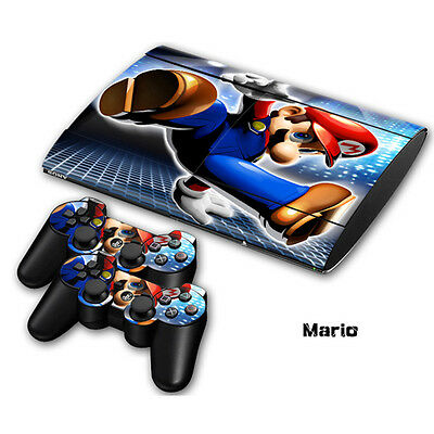 Skin Sticker Vinyl Decal Cover For Playstation 3 PS3 Super Slim CECH-4000 #0038