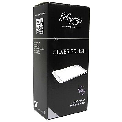 Hagerty Silver Polish 100ml Jewellery Cleaner Sterling Silverplate - SH290A