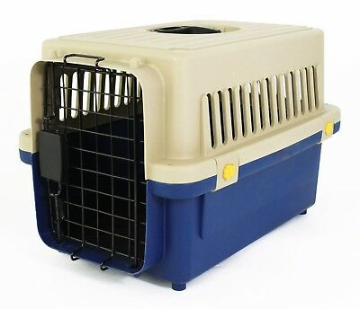 Small Pet Travel Carrier Transport Box Cage Kennel – For Dog Puppy Cat Kitten