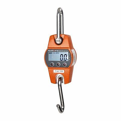 CRANE SCALE 300 kg / 100g - WEIGHING DIGITAL INDUSTRIAL HANGING SCALES PRO NEW