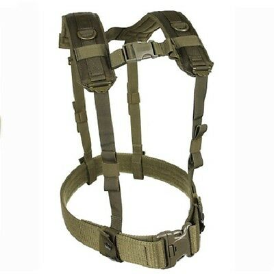 New! Blackhawk Tactical Harness Load Bearing Suspenders Olive Drab #35LBS1OD