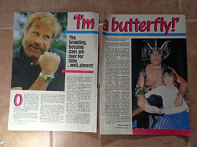Oliver Reed_MAGAZINE CLIPPINGS_ships from AUS!_14i