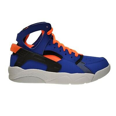 buy popular 61e16 13199 Nike Flight Huarache (GS) Big Kids Shoes Royal Orange-Black-White