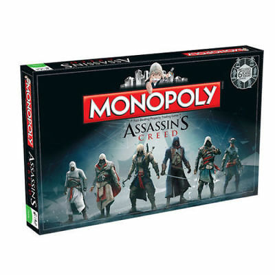 ASSASSINS CREED MONOPOLY by Hasbro - Collectors Edition