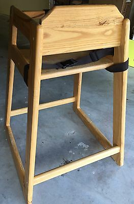 The Marston Restaurant High Chair With Straps By Tomslinson P/N : 1916746