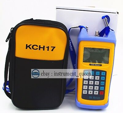 Portable Dual Channel Handle Signal Level Strength Meter Replace RY-S110 RY-S100
