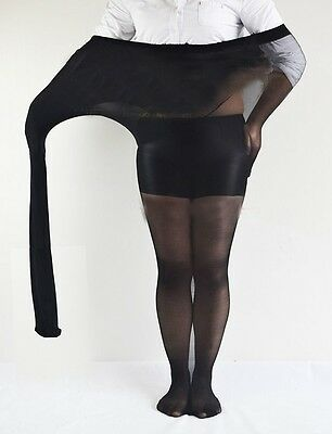 Plus Size S-3XL Velvet Womens's Stockings Hosiery Pantyhose 600D