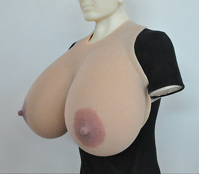 Oval Nipple Customized Size 19XL 12KG/pair Large Realistic Silicone Breast Forms