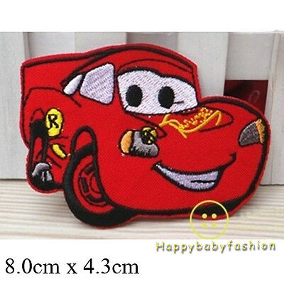 DIY Superman Batman Cars Pony Embroidered Patch Applique Badge Iron-on/Sew On