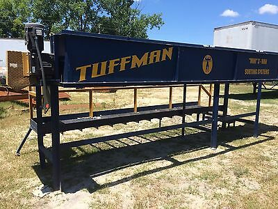 "Tuffman ""Mini"" Model 3-Men (IM) Sorting System w/ Infeed Conveyor"