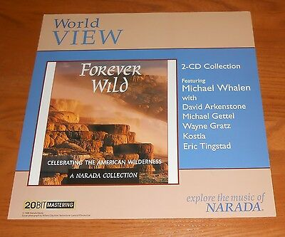 World View Forever Wild Poster 2-Sided Flat Square 1996 Promo 12x12