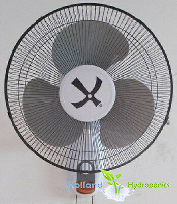 "16"" wall fan for air circulation and cooling - hydroponics ventilation"