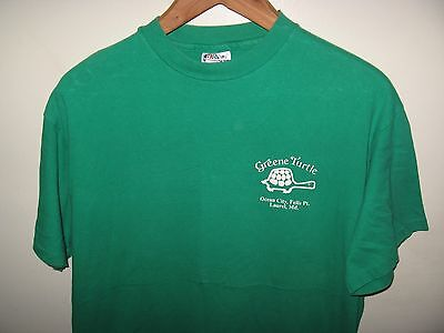 Greene Turtle 1980's Tee - Vintage Maryland Bar & Grill Restaurant T Shirt Large