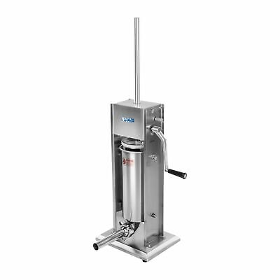 New Stainless Steel Sausage Maker Sausage Filling Machine 5L 2-Speed Gearbox
