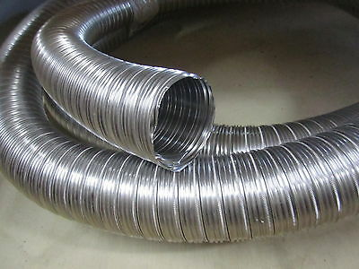Flexible Pipe Diam 80 With Smooth Internal Wall For Hot Ad Cold Air Ducting