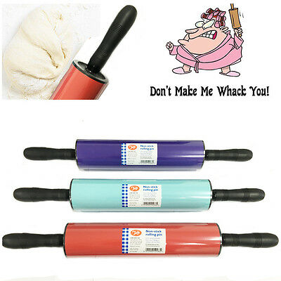 Dough Roller Large Non Stick Rolling Pin Revolving Kitchen Hand Tool TALA 6 cm