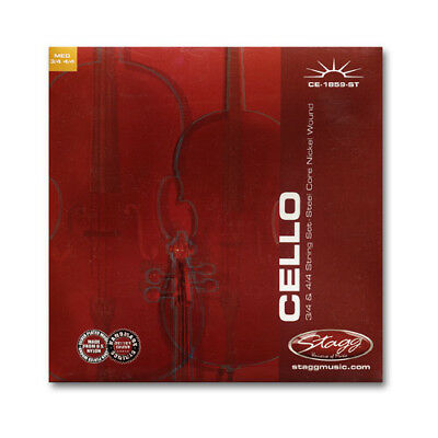 Stagg Cello Strings for 4/4 and ? sizes