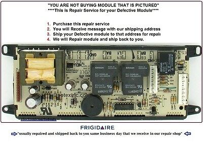 "318010900 Repair Service Frigidaire Oven Control Board ""1 DAY TURNAROUND TIME"""