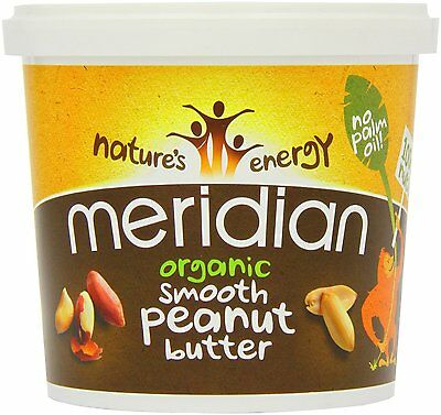Meridian Foods Organic Peanut Butter Smooth 1000g