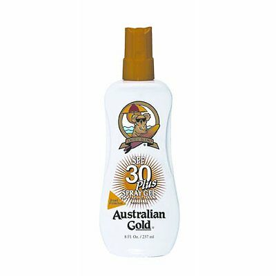 Australian Gold SPRAY GEL SPF 30 237ml - Water resistant