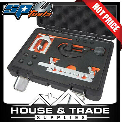 SP TOOLS Metric Double Flaring Tool Kit SP63015